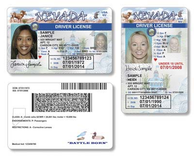 Nevada Driver's Las Licenses Vegas Issued To Be In Review-journal New