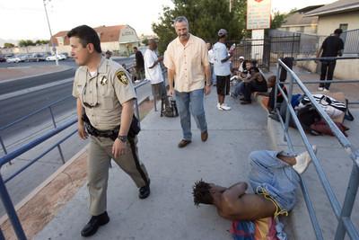 3555730 & Plan targets homeless tent city u2013 Las Vegas Review-Journal