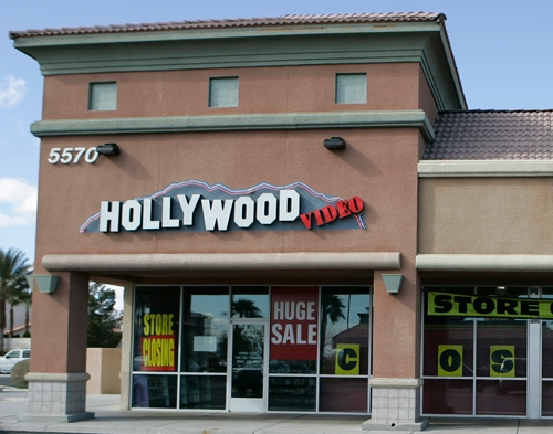 Hollywood Video Will Close Four Of 10 Las Vegas Stores As