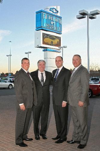Ed Bozarth Chevrolet Opens In Northwest Las Vegas Review Journal