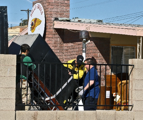 Police Seize Items At Hells Angels Clubhouse Las Vegas Review Journal
