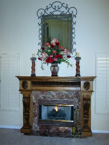 Fireplace mantel must fit room's style, architecture – Las Vegas ...