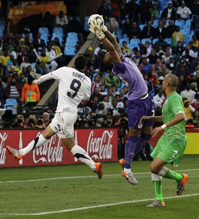 South Africa Soccer WCup US Algeria