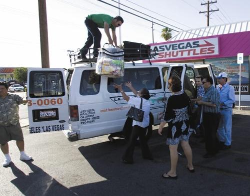 Las Vegas Shuttles >> Raid Has Repercussions Las Vegas Review Journal