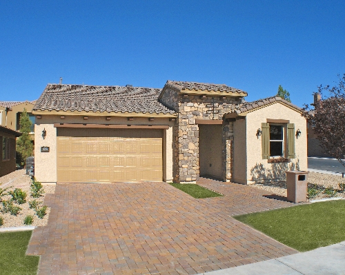 Single story tuscan style homes for Tuscan house plans single story