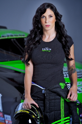 Billionaire Heiress Likes Fast Lane Of Nhra Las Vegas