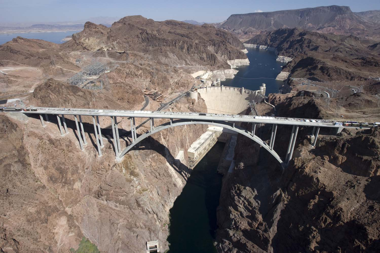 Hoover Dam Bypass Bridge 10 101610