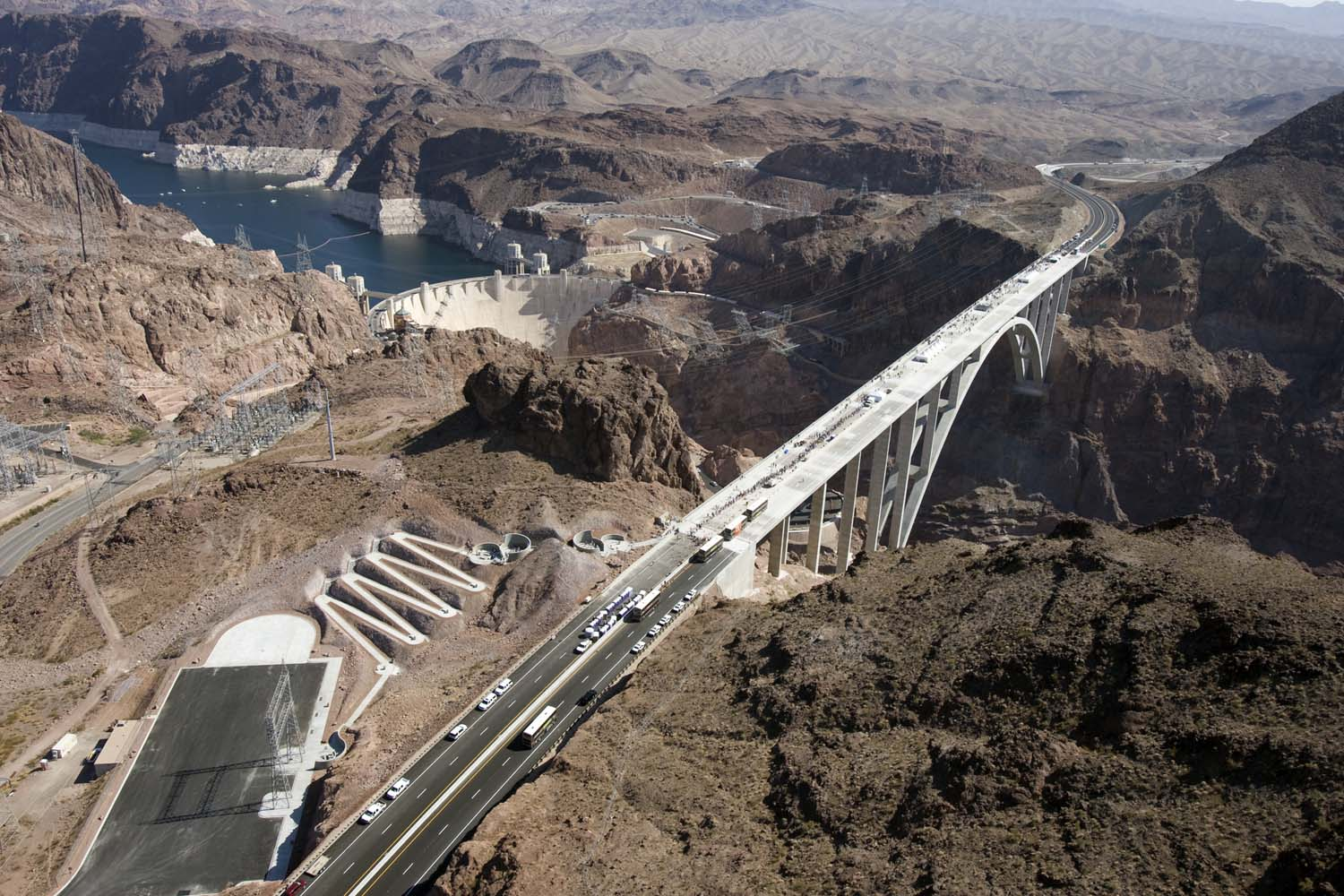 Hoover Dam Bypass Bridge 12 101610