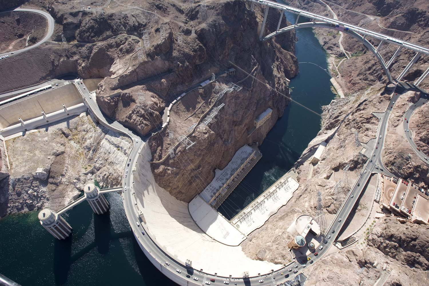 Hoover Dam Bypass Bridge 15 101610