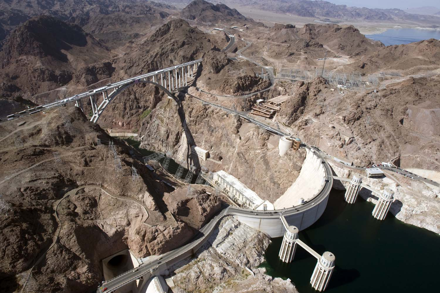 Hoover Dam Bypass Bridge 8 101610