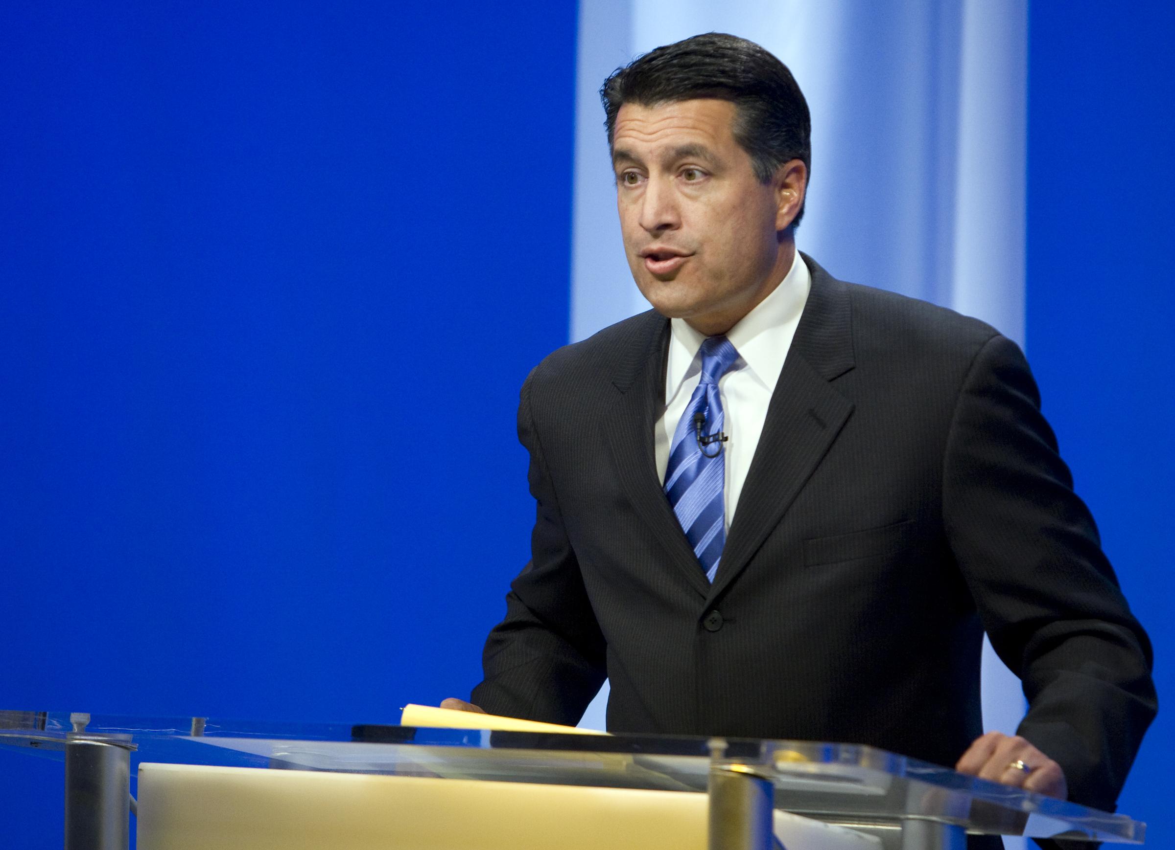 Reid Sandoval Debate 10 100710