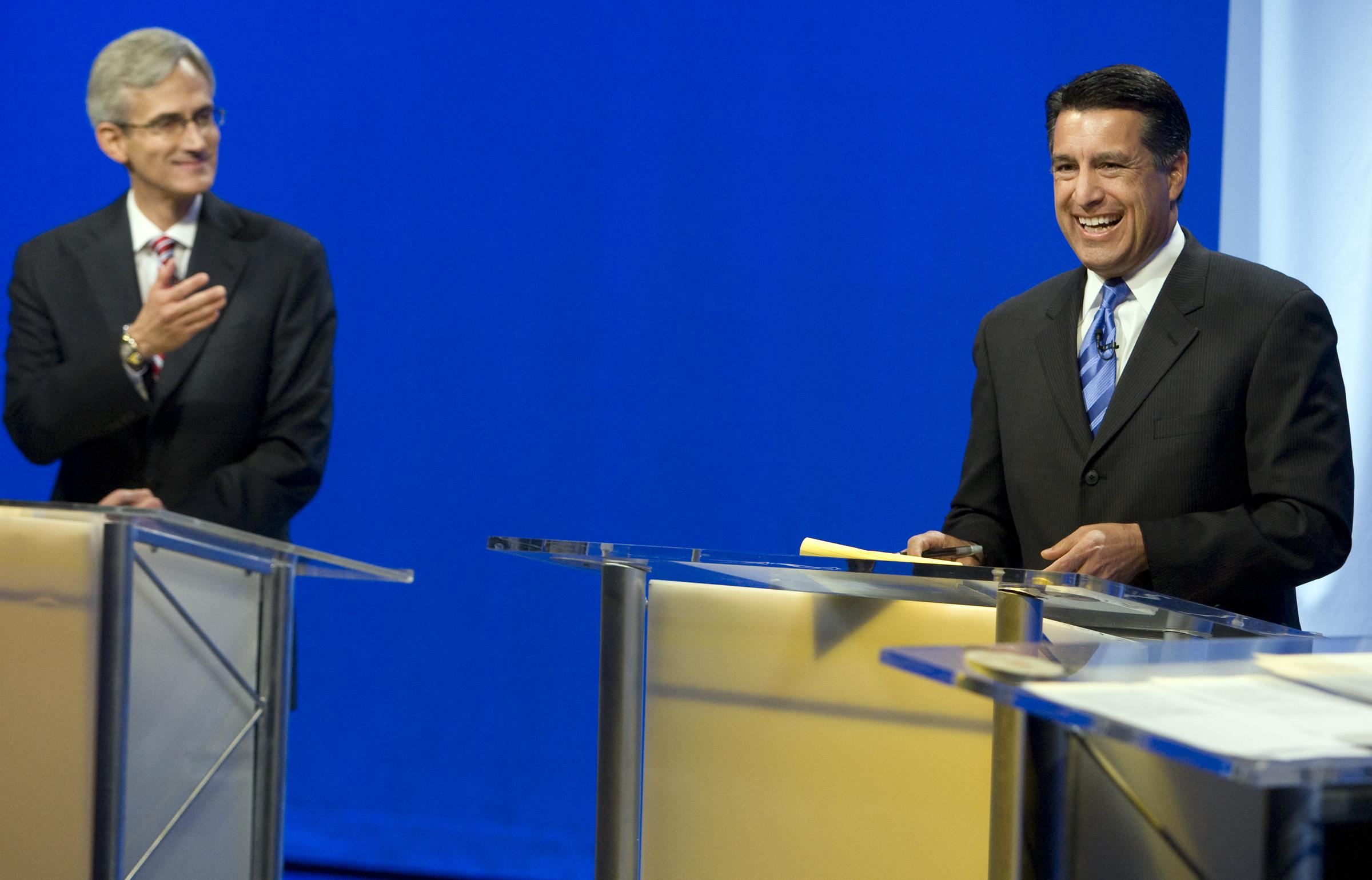 Reid Sandoval Debate 2 100710