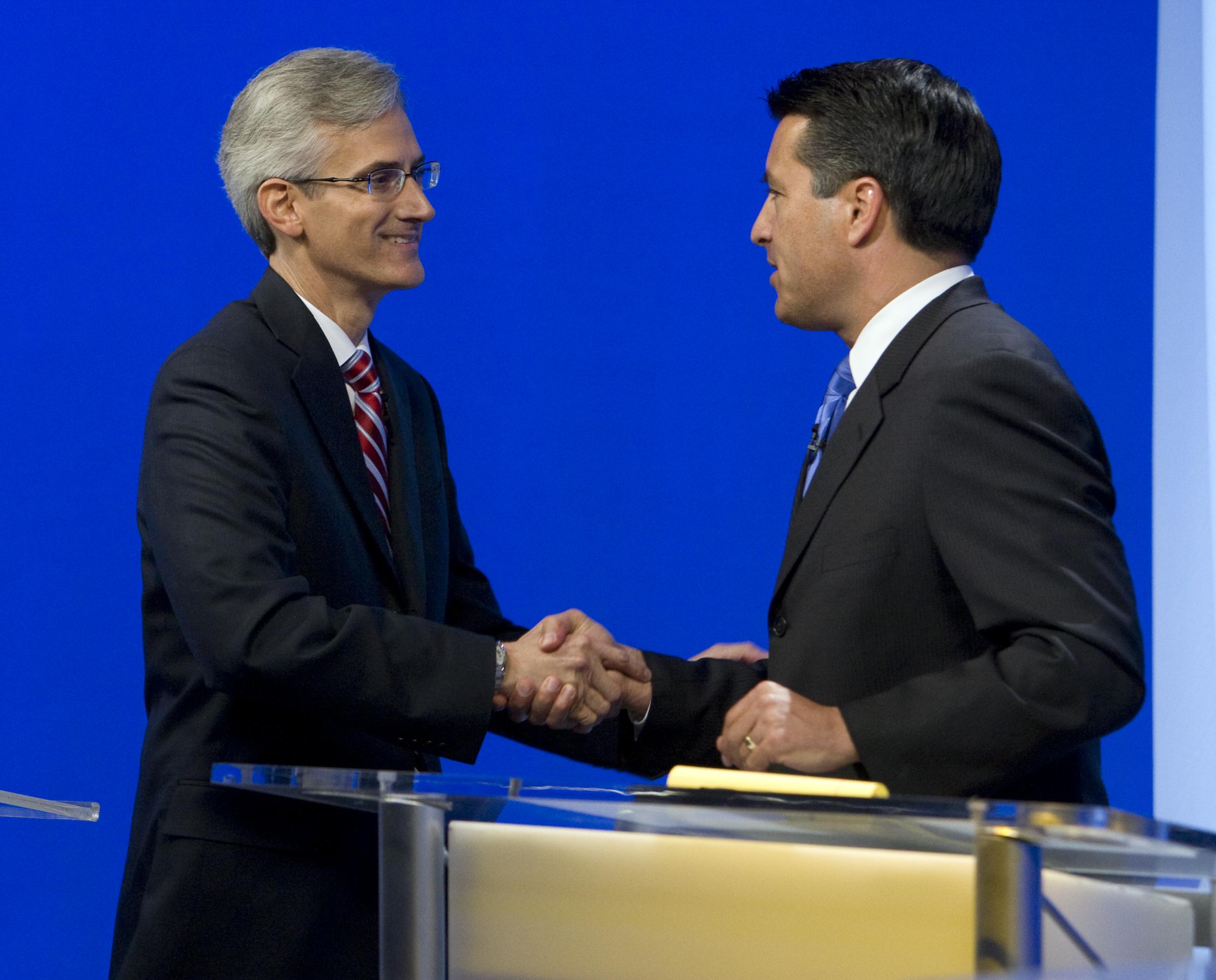 Reid Sandoval Debate 3 100710