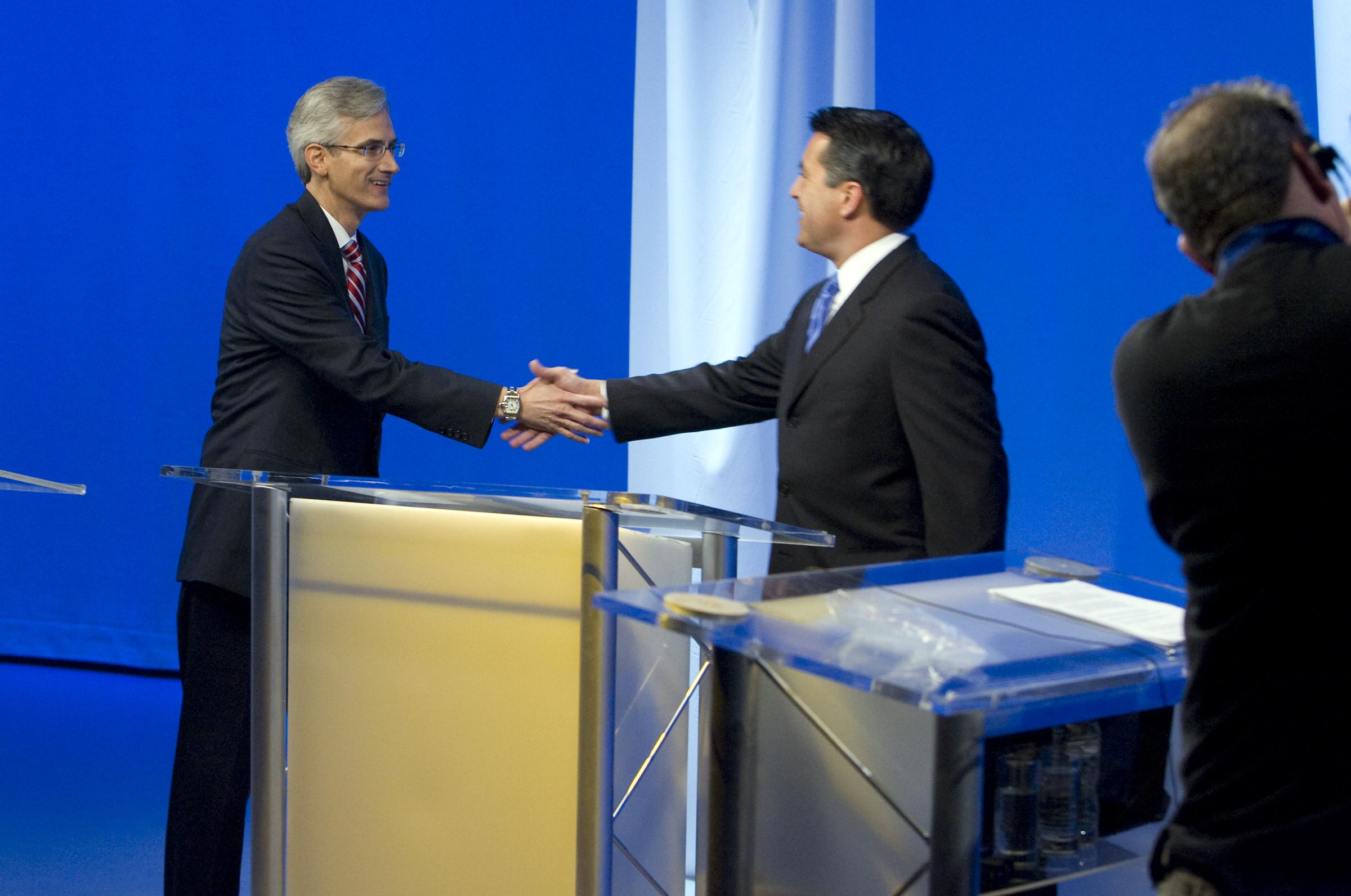 Reid Sandoval Debate 8 100710