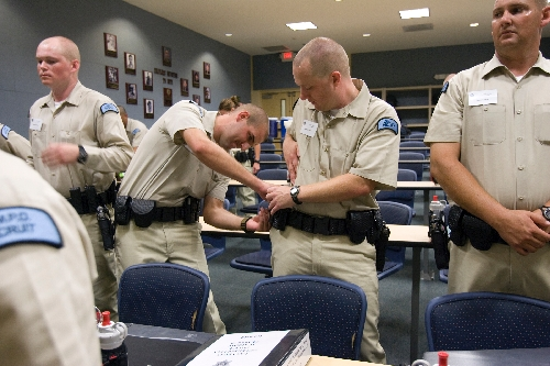 Those who enter police academy out of shape find out fast