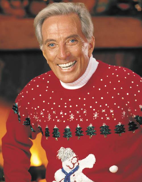 Andy Williams Christmas.Mr Christmas Andy Williams Brings Seasonal Songs To Las
