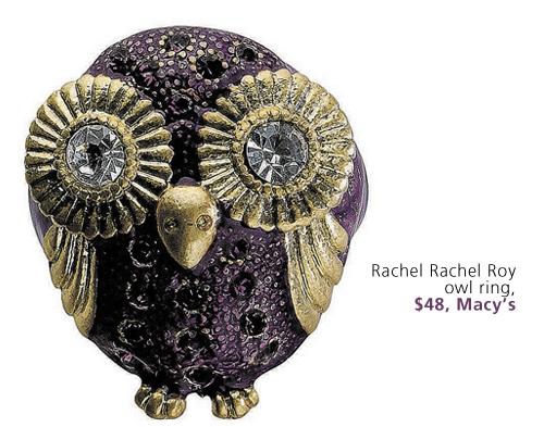 gift guide-owl ring