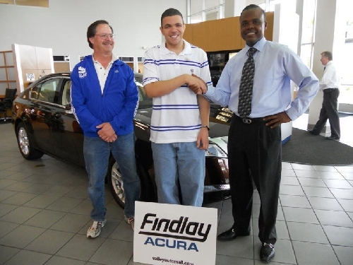 Findlay Acura Supports Special Olympics Athlete Las