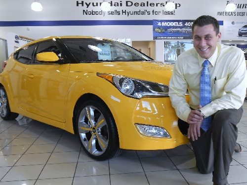 Beautiful Planet Hyundai Manager Has History In Car Business