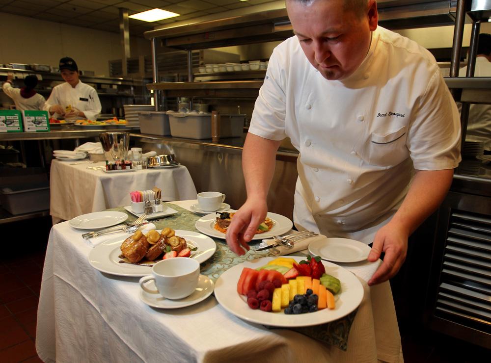 Bellagio Hotel Room Service Menu