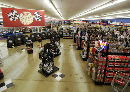 New Pep Boys Speed Shop Opens Las Vegas Review Journal