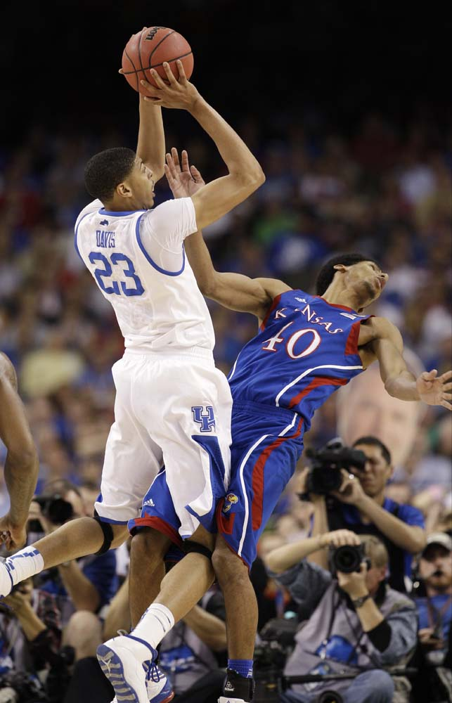 Final Four Kentucky Kansas Basketball