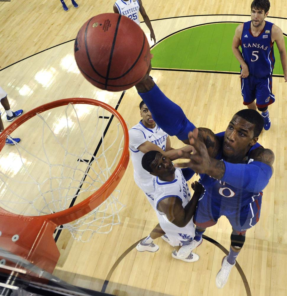 NCAA Final Four Kentucky Kansas Basketball