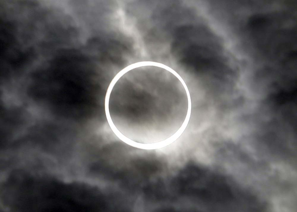 Japan Ring of Fire Eclipse