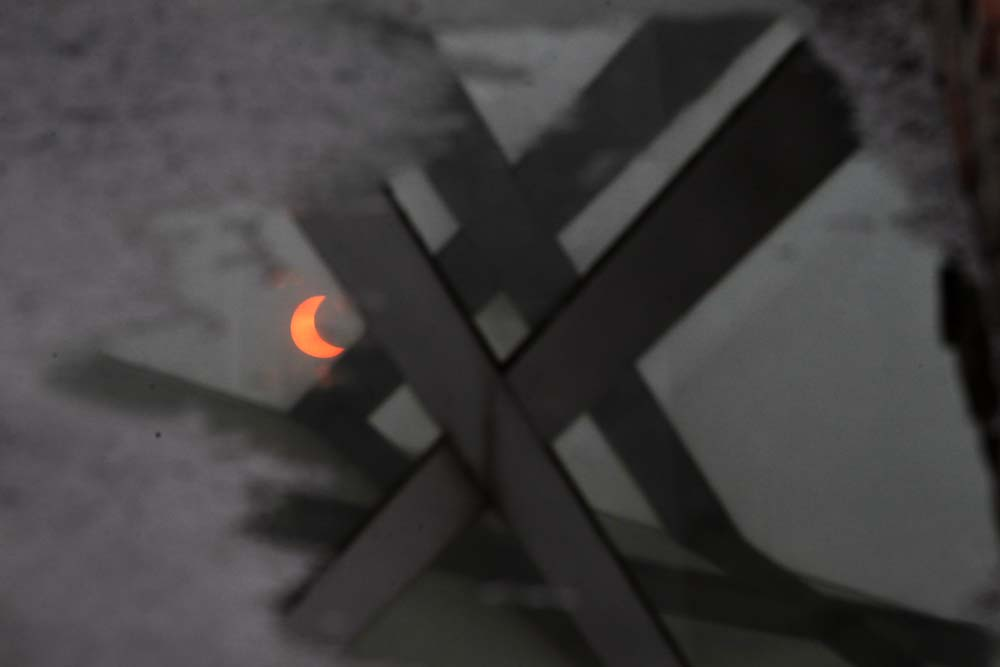 APTOPIX China Ring of Fire Eclipse