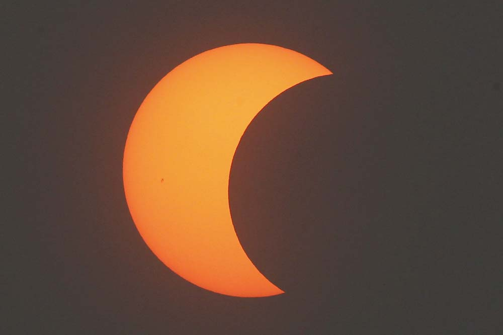 China Ring of Fire Eclipse