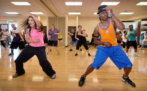 Zumba beat helps keep residents fit las vegas review journal