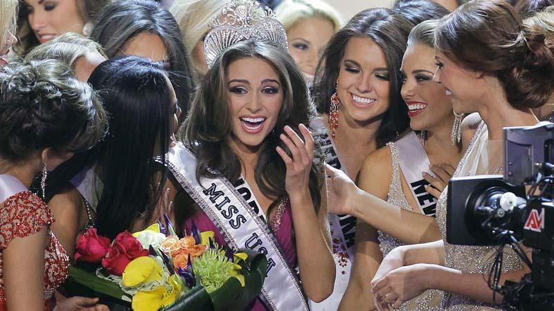 APTOPIX Miss USA