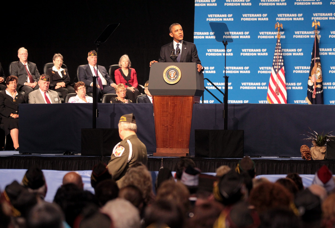 VFW - Obama speech