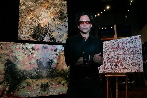 Strip Tips Actor Richard Grieco Showcasing Art Las Vegas Review