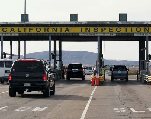 California Inspection Station Protects Agriculture Angers Drivers