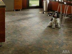 Living in luxury with the look of stone and slate flooring