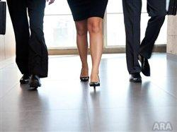 Safely climb the corporate ladder: Shopping tips for healthy office footwear