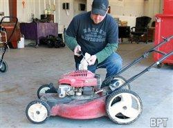 Basic maintenance can keep your lawn equipment running longer
