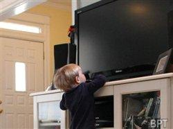 TV tip-overs a hazard for young children