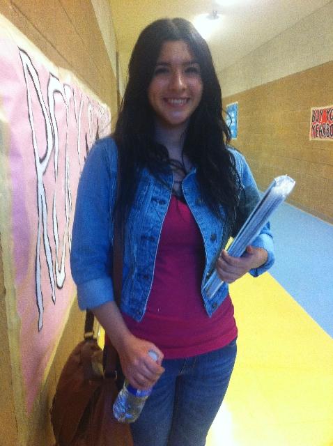 Vanessa Villasenor, sophomore