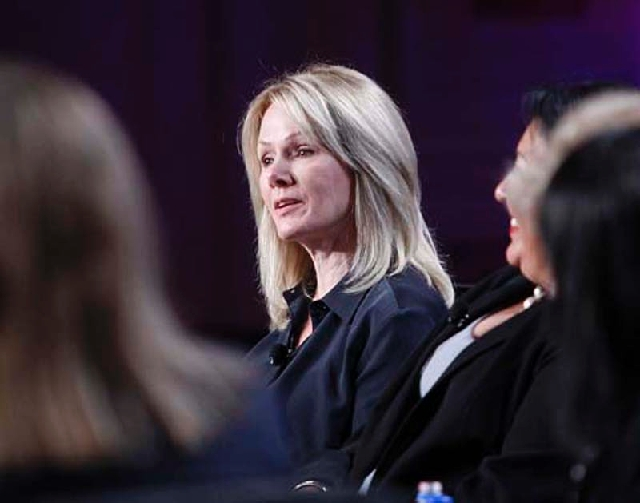 International Game Technology CEO Patti Hart recused herself from any involvement in her company's acquisition of BringIt Technologies.