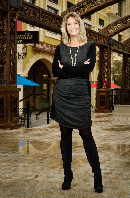 Tonia Chafetz, general manager of Tivoli Village.