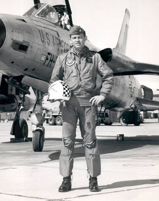 Capt. Gene Devlin  was killed in the May 1964 crash of an F-105 Thunderchief at Hamilton Air Force Base, Calif.  A model replica of Devlin's plane was recently found at Nellis Air Force Base ...