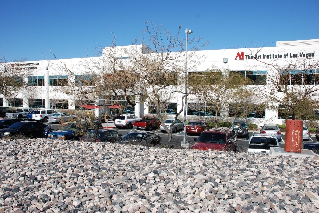 The Art Institute of Las Vegas, 2350 Corporate Circle in Henderson, offers courses that train students in jobs that are in high demand, such as Web and graphic design.