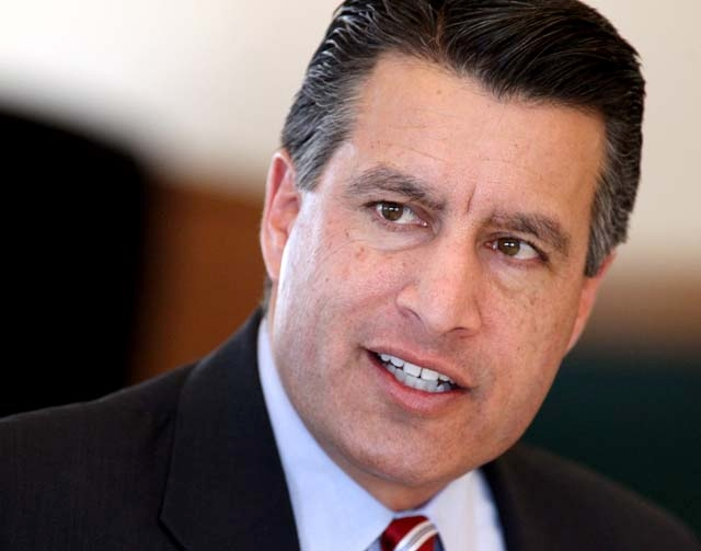 """To gauge whether he tries to hire women and minorities, Gov. Brian Sandoval says people should """"look at the full body of (my) appointments. I think that is a better indication."""""""