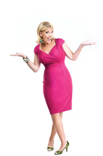 """Lisa Lampanelli, """"The Queen of Mean,"""" gets to the punch line."""