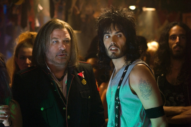 "For dynamic duos, it was hard to beat Alec Baldwin and Russell Brand in the hair-metal-centric ""Rock of Ages"""
