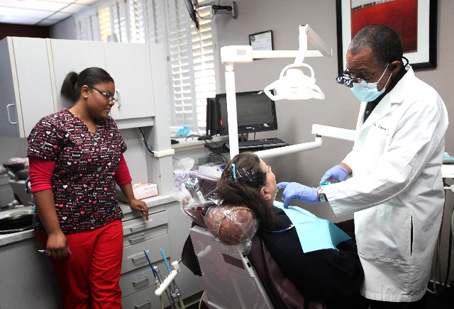 African american las vegas dentist thrives with personal for African cuisine near me