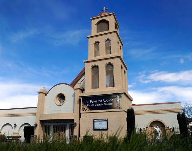 St. Peter the Apostle Roman Catholic Church in Henderson was established in 1943, 10 years before Henderson was incorporated as a city. Next weekend, St. Peter's parishioners will celebrate  ...