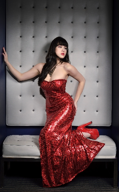 """""""Pin Up"""" star Claire Sinclair says an enduring sense of fun keeps pinup models timeless."""